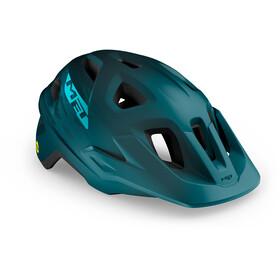MET Echo MIPS Casco, petrol/blue matte